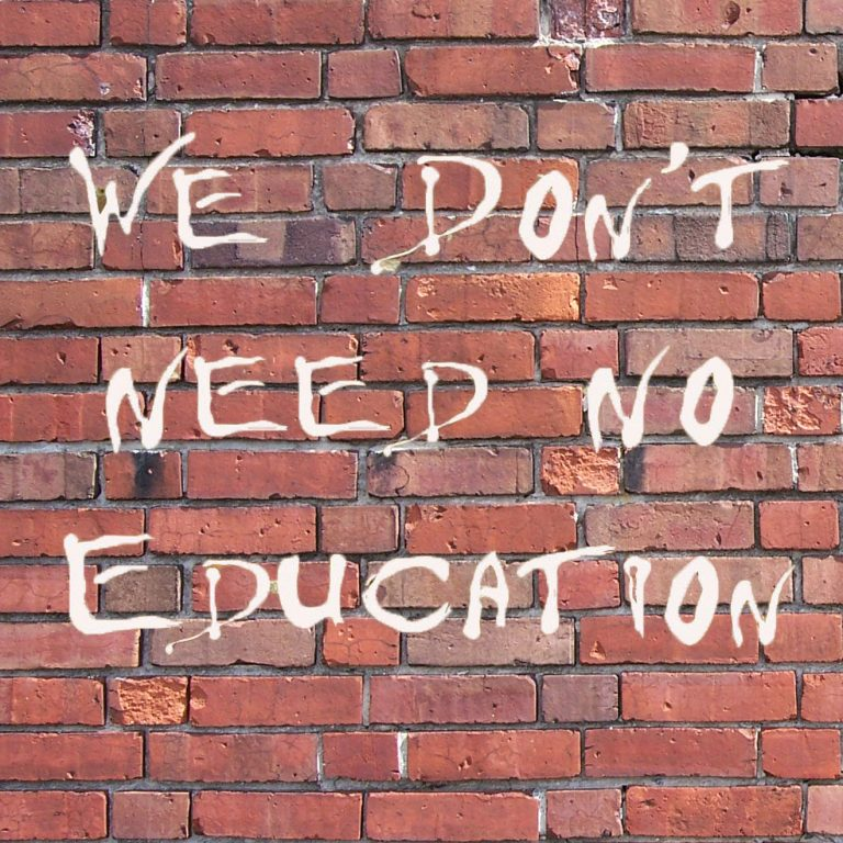 we-dont-need-no-education